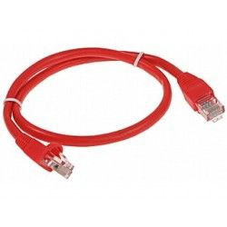 PATCHCORD RJ45/0.5-RED 0.5 m