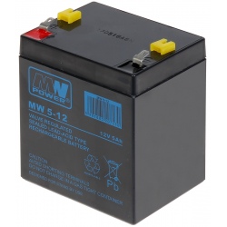 ACUMULATOR 12V/5AH-MW MW POWER